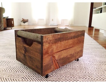 Rustic Large Wooden Storage Crate, Rustic Box, Handmade Storage Box, Rustic  Decor, Rustic Storage Box, Rustic Organization, Farmhouse, Crate