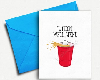 Graduation Gift for Him, College Graduation Card, Grad Card Funny, Graduation Invitation, Funny Graduation Card, Graduation Party Invite