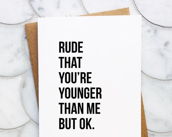 Rude but Ok