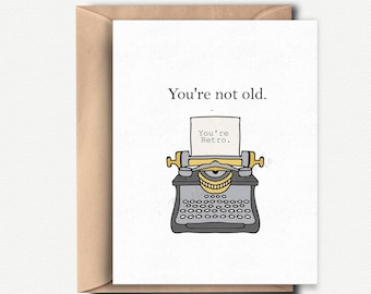 30th Birthday Card Funny Gift Husband 40th For Him Her Wife Best Friend Old