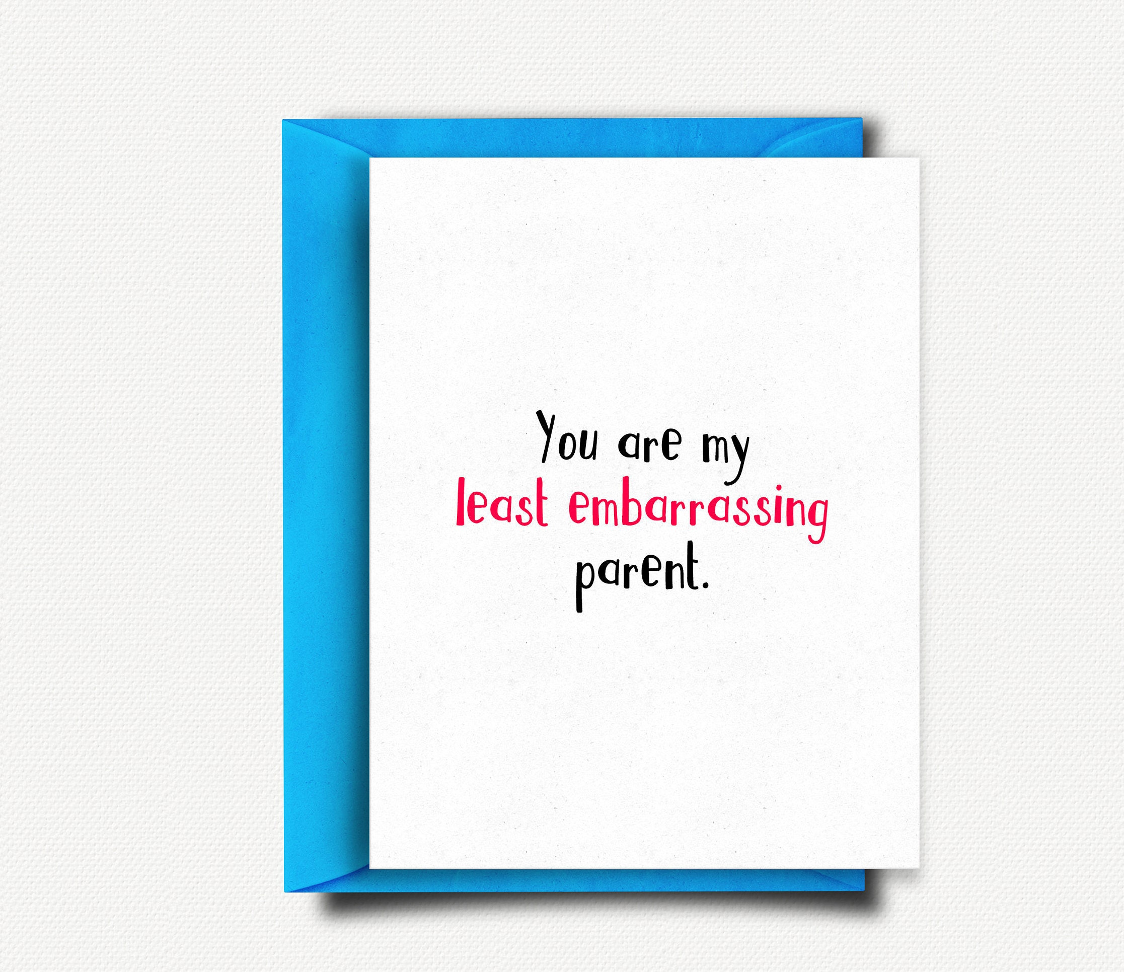 Funny Fathers Day Card Fathers Day Gift Father Dad Card Fathers
