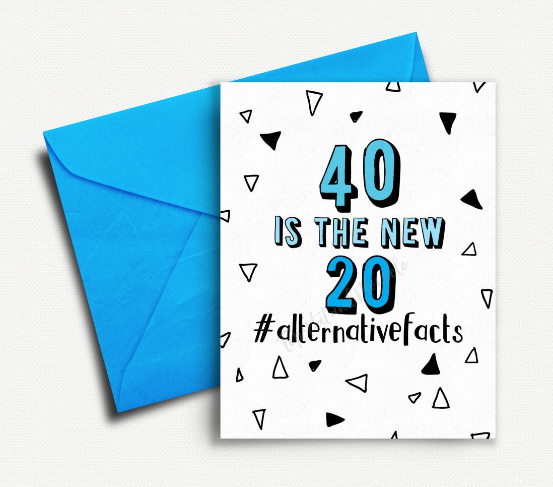 40th Birthday Card Funny Gifts For Women Best Friend Mum Her Him Wife Husband