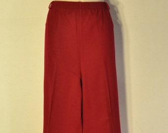 a4543c1e Ladies red slacks | Etsy
