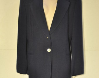 Women's Vintage Navy Suit