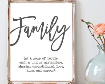 Family Quote Etsy
