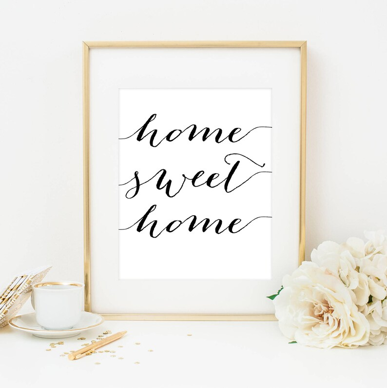 graphic about Home Sweet Home Printable known as Residence Cute House Printable, Household Lovable Household Print, Household Wall Artwork, Refreshing Property Present, House Cute Residence Indication, Residence Printable, Property Wall Decor