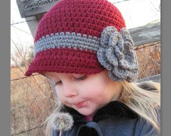 767f253dd0b Crochet Girls Winter Hat