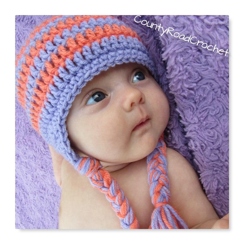 c5113b7f7e2 School Colors Hat Custom Colors Beanie Baby Girl Hat Preemie