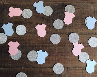 Gender Reveal Confetti. Baby Shower Confetti. Party Table Decor. Gender Reveal Decorations. Baby Shower Decorations. Gender Reveal Party.