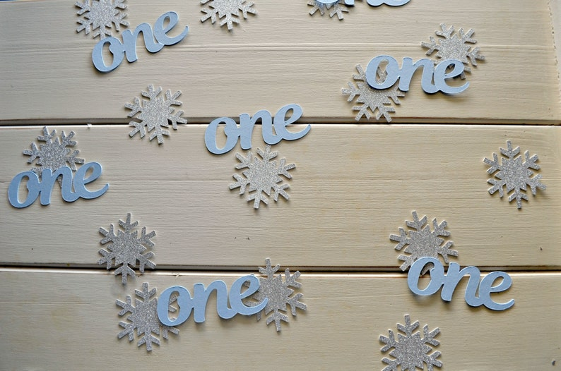 Winter Wonderland Confetti Winter Onederland Confetti Winter Onederland Boy Winter Wonderland Decor. Winter Onederland Decor