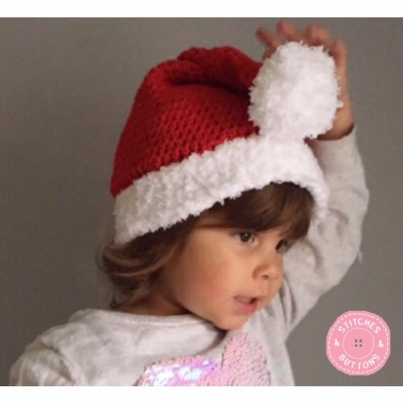 91a0a028fd9 TODDLER Santa Hat Christmas Hat Baby Tottler Child Teen Teenager Adult  Father Ch... TODDLER Santa Hat Christmas Hat Baby Tottler Child Teen  Teenager Adult ...