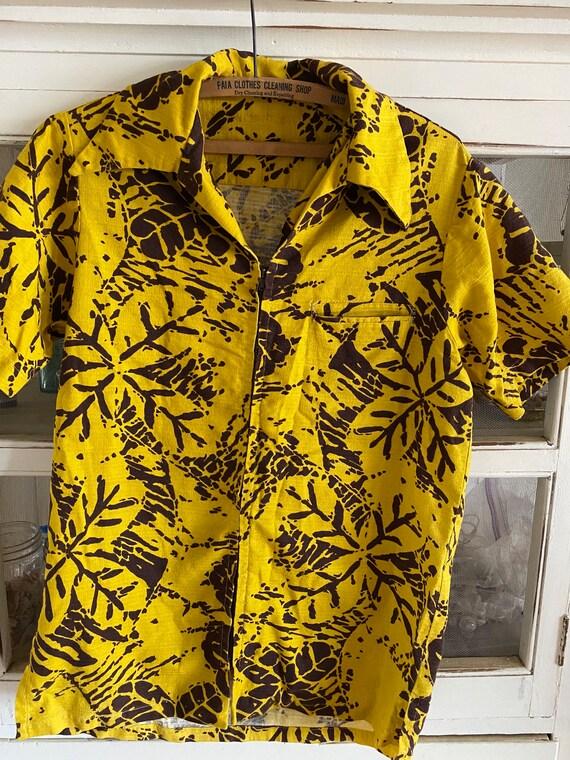 Vintage aloha shirt