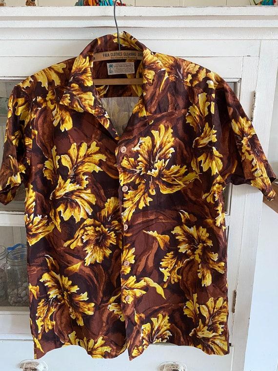 Waltah Clarke's Aloha shirt