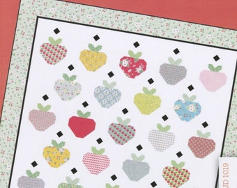 Strawberry Field Quilt Pattern from Lauren and Jessi Jung Designs