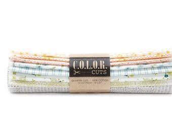 Sugar on Top Natural Fat Quarter Bundle - Color Cuts - Moda Fabrics - Natural Fabric Bundle - CCAB3 - 12 Fat Quarters