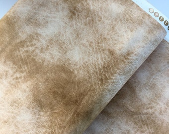 Cream Leather Look Cotton Fabric from the Destination Paris Collection by Whistler Studios for Windham Fabrics