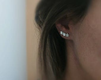 Star Post Earrings, Tiny Star Earrings, Dainty Star Stud Earrings, Sterling Silver Tiny Star Stud Earrings, Star Jewellery, Star Jewelry