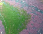 Abstract Canvas Paint Pou...