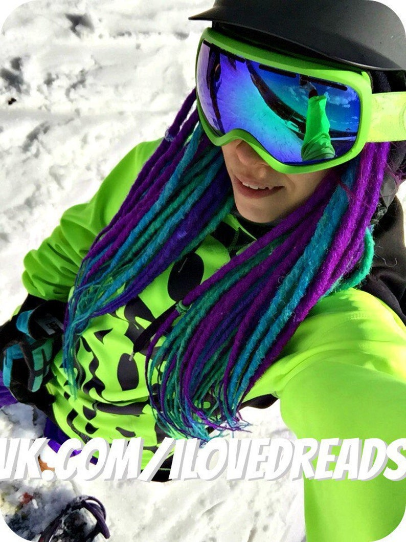 Any color Double ended synthetic dreadlocks