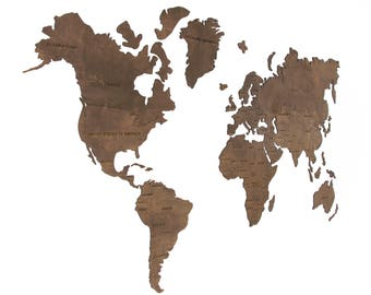 Wood world map etsy world map wall world map hanging world map wooden world map wood world map wall art world map large office world map world map poster gumiabroncs Images