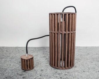 Lampade A Sospensione Allaperto : Lampada moderna lampada legno ciondolo luce moderna etsy