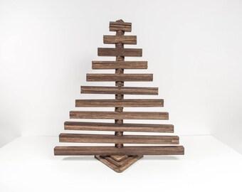 wooden christmas tree wood christmas tree small christmas tree christmas decorations rustic christmas gifts for parents - Small Decorations For Christmas