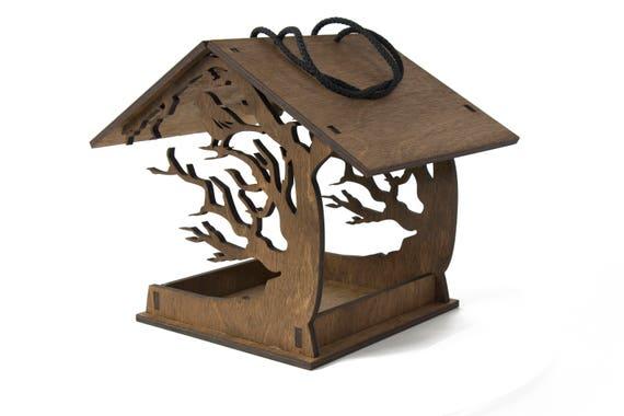 Bird Feeder Hanging Love Birds House