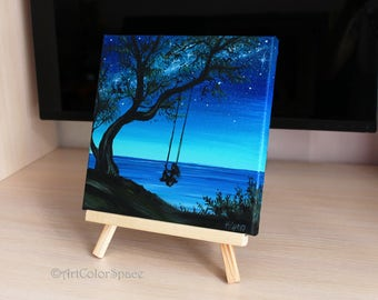 Paintings On Canvas Etsy