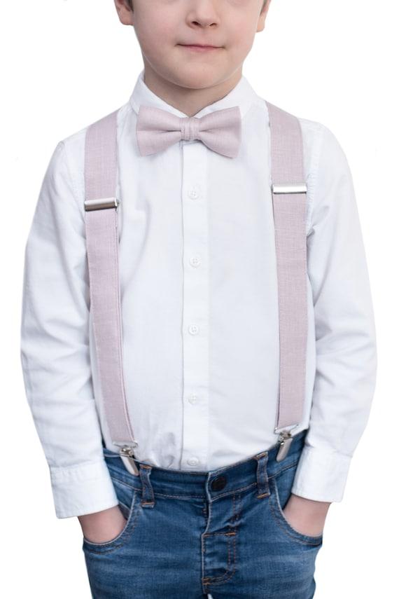 boys thanksgiving outfit  boys bow ties boys suspenders  beige bowtie /& burgundy suspenders