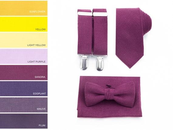 Necktie MIST Suspenders Bow Tie Braces Ties Wedding Bowties Neckties