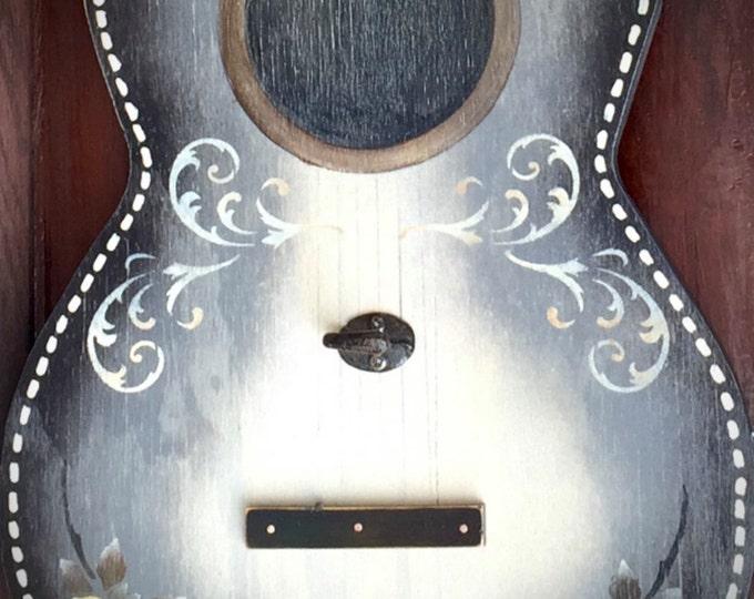 Guitar, guitar wall art, coat rack, custom guitar, country, rustic
