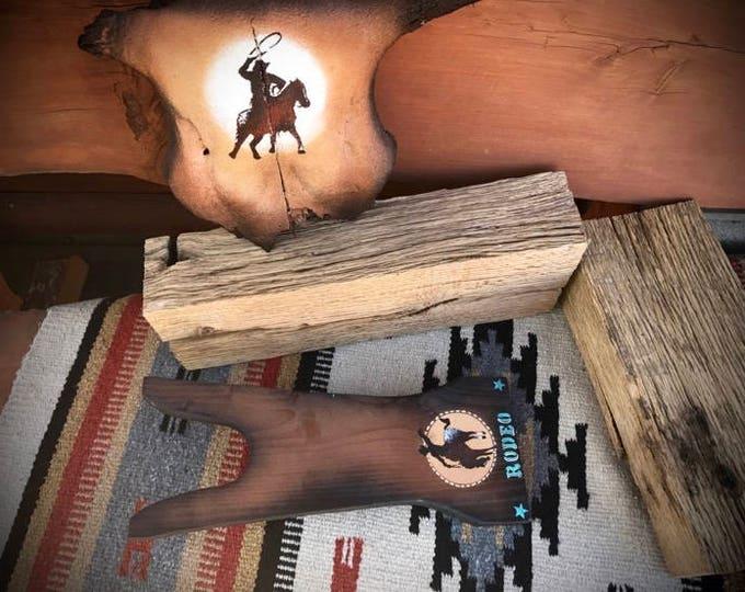 Western rodeo boot jack, cowboy boot pull, bucking bronc, western cowboy decor