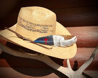 3b13d67b7f4 Custom American hat feather