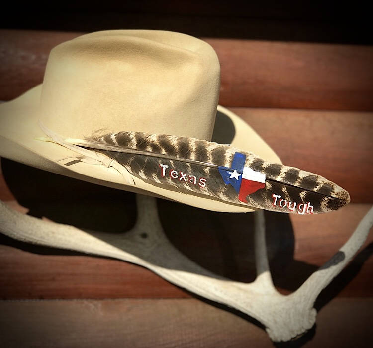 7f72eb44c8a7e Cowboy hat feather