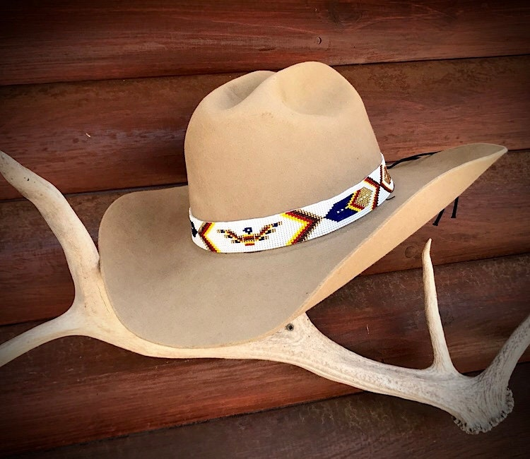 Beaded hat band a7f57e7c6