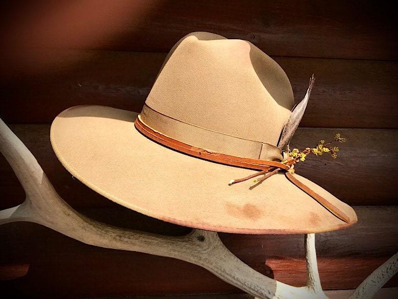 c295bf758cd SALE! Vintage western hat