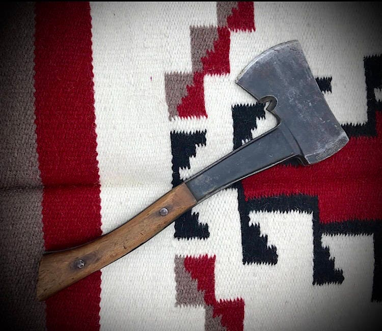 Bridgeport Boy Scout Hatchet 1940s Bridgeport Hardware