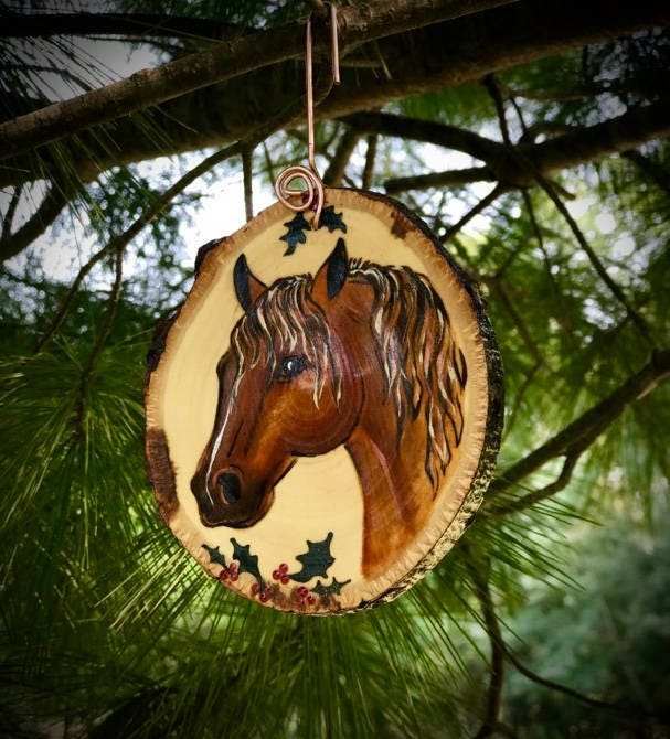 Christmas ornament, custom western christmas tree ornament ...