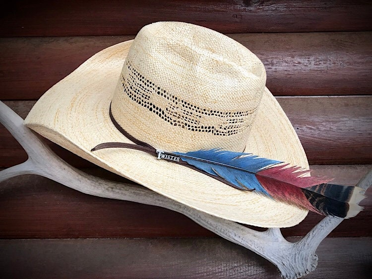 ee05a8d9cd142 Custom hat feather