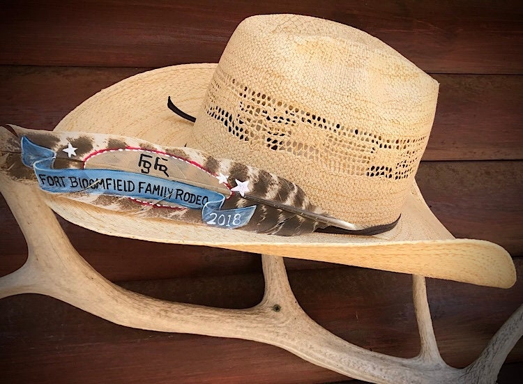 9f7424d69a7 ... western hat feathers