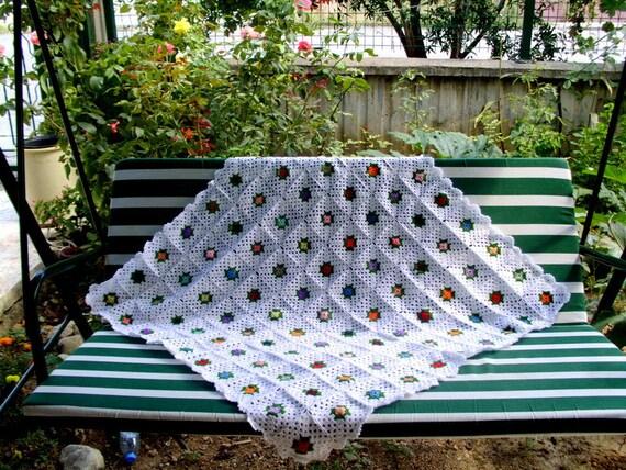 Oma Platz afghanischen Decke handgemachte Decke häkeln Decke | Etsy