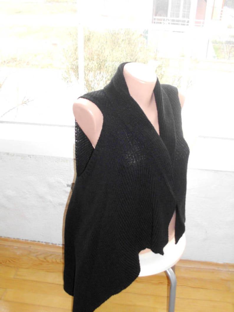 eebf1ffc820ee Hand knit vest Womens vest Womens sweaters Plus size