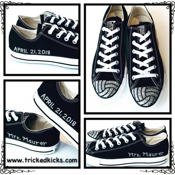 d5e59db015ad Custom Add On. Customized Bling Converse. Custom Rhinestone