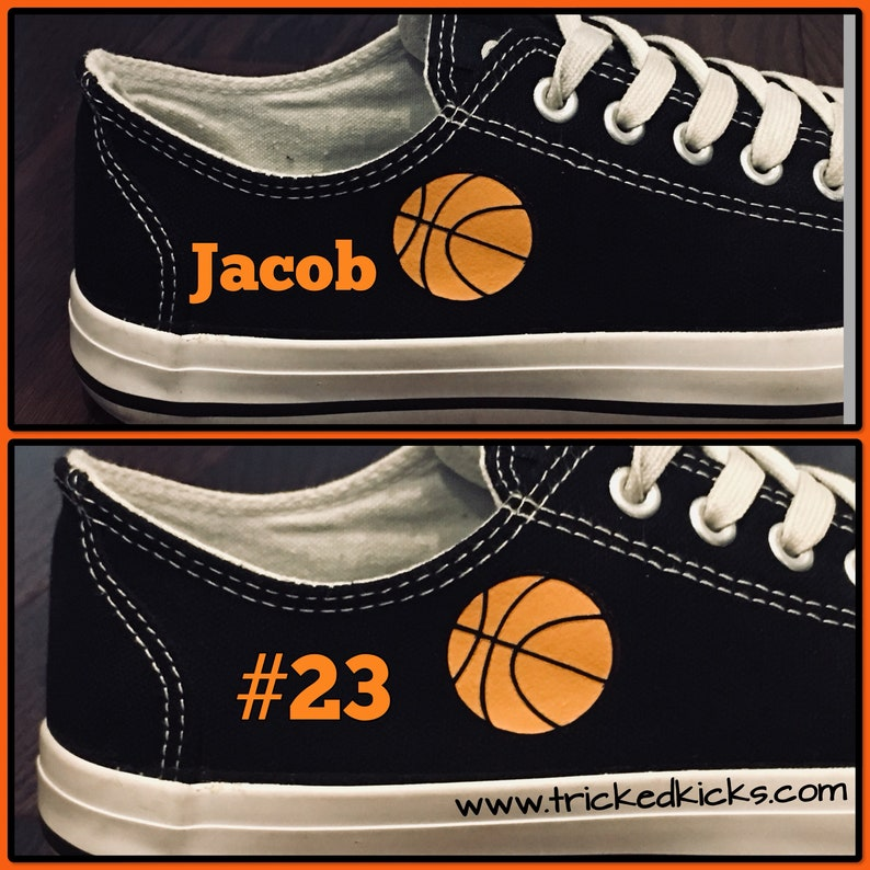 ed0b87a866d34 Basketball Converse Shoes. Personalized Basketball Converse