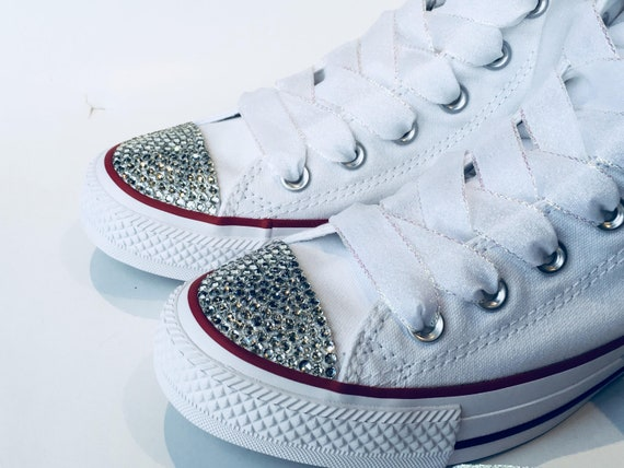 Animal Paw Print Bling Converse Shoes for Kids. DogCat Paw