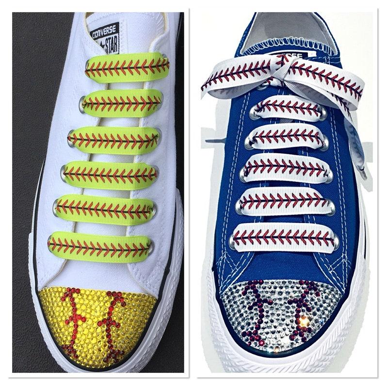 1a96e74743f3 Baseball and Softball Shoelaces. 5 8 Grosgrain Ribbon