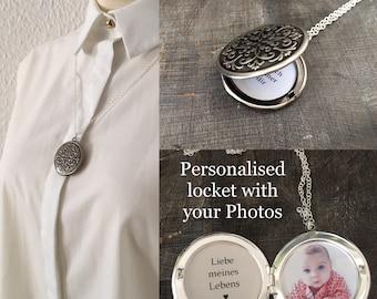 Personalised locket necklace, personalised necklace, personalised  jewelry, personalized unique Gift, locket necklace