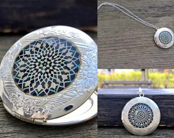 locket,locket necklace, silver locket neclace,silver Locket,925 sterling silver Locket, Photo Jewelry, Gift for Her
