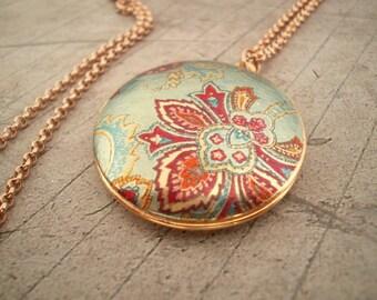 Locket,brass locket,vintage locket,unique handmade locket,gold locket,jewelry,germany,gift for her,vintage necklace,gift,abstract,patterns,