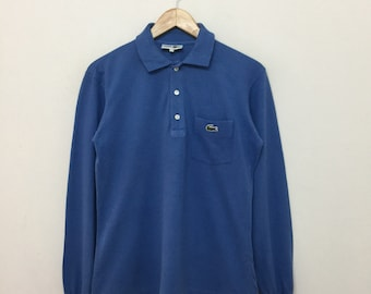 Polo France Lacoste Made Vert Vintage In Chemise Etsy XqrgfSxUXw
